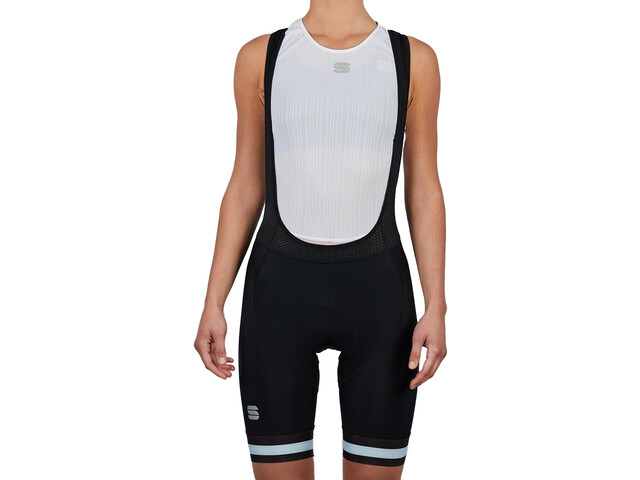 Sportful BF Classic Bib Shorts Dames, black blue sky